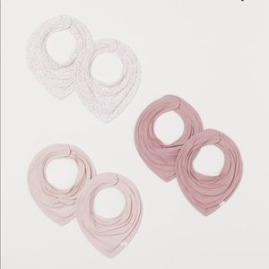 H&M bibs 6 packs